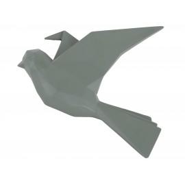 3D Muurdecoratie Origami Vogel - Groen