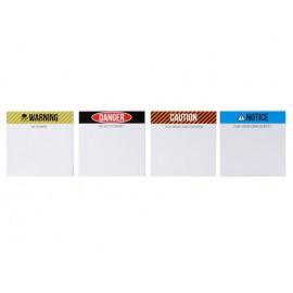White Board Warnings incl marker