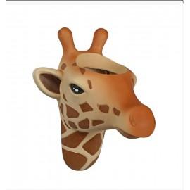 Bloempot muur Giraffe