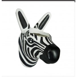 Bloempot muur Zebra