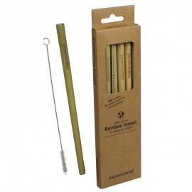Bamboe Rietjes Herbruikbaar set van 6