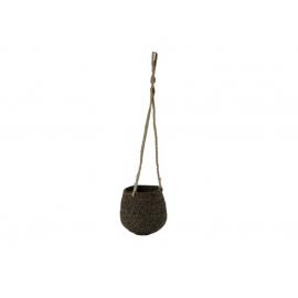 Hangpot Papette Jute Bruin