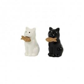 Peper en Zoutstel Kat