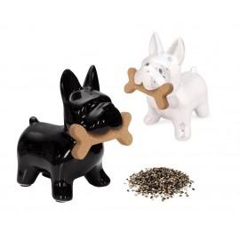 Peper en Zoutstel Hond