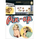 MuurSticker Pin-up