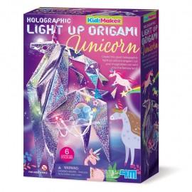 4M Origami Eenhoorn met licht