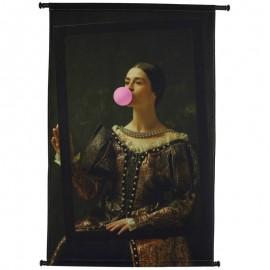 Wanddoek Velvet Bubblegum