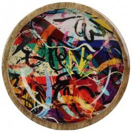 Schaal Graffiti 4x20cm