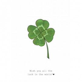 Dubbele kaart The Luck in the World