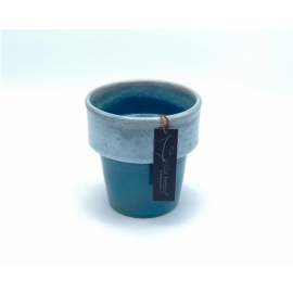 Bloempot Toscane Donker Blauw 1-1