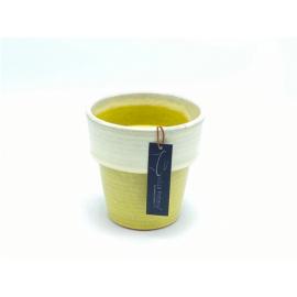 Bloempot Toscane Geel 1-2