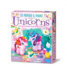 4M Bouwpakket Unicorn Gieten en Verven