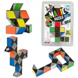 Magic Puzzle 3D Multi Colour (24)