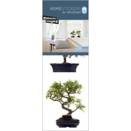 Raamsticker Bonsai