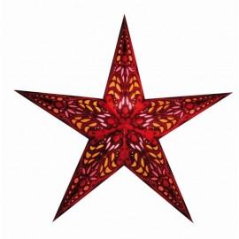 Papieren Kerstster Mercury Rood