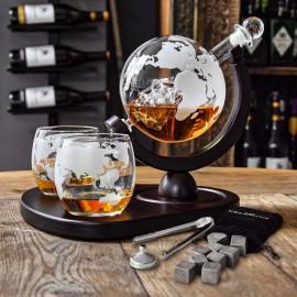 Deluxe Globe Decanter Set