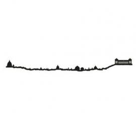 The Line Skyline Rome Zwart 50 cm