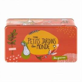 Opbergblik voor Zaden Petits Jardins du Monde