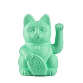 Lucky Cat- Zwaaiende Kat Mint Groen