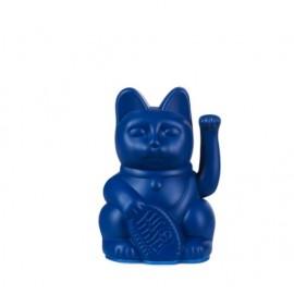 Lucky Cat- Zwaaiende Kat Donker Blauw Mini