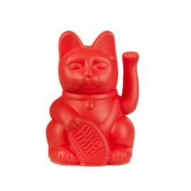 Lucky Cat- Zwaaiende Kat Rood Mini
