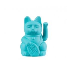 Lucky Cat- Zwaaiende Kat Turquoise Mini