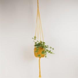 Sunflower Plant hanger 100% cotton L120 cm.