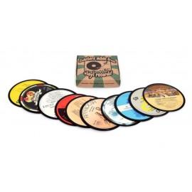 Vinyl COASTERS assorted