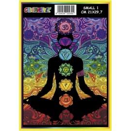 Vilten Kleurplaat  Meditatie