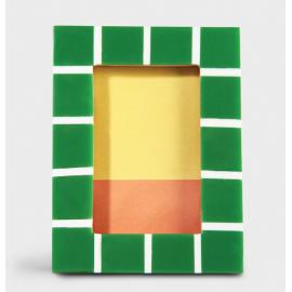 Fotolijst Check Vierkant Groen