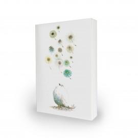 Notitieboek Moniek Peek 'Silence'