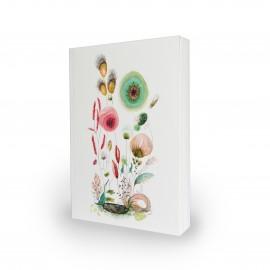 Notitieboek Moniek Peek 'Green Bird'