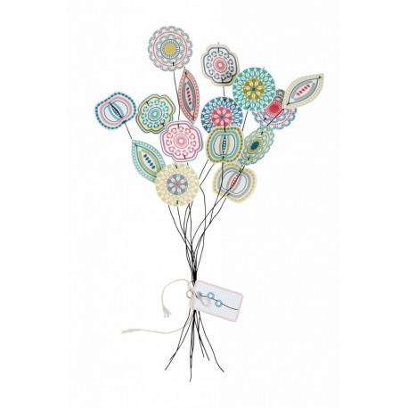 Blom papieren bloemen Jurrianne matter