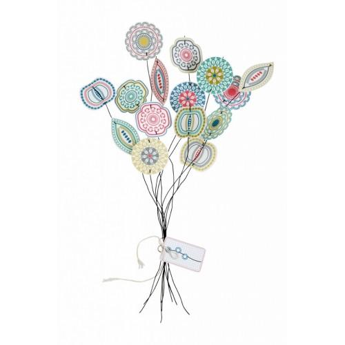 Blom papieren bloemen jurrianne matter for Bouquet de fleurs pour 30 ans