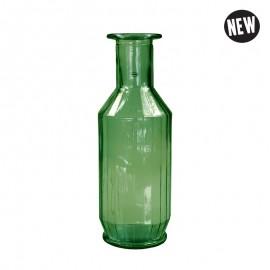 Faceta Decanter 1.1l recycled glass Groen