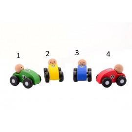 Houten Speelgoed Auto's Assorti