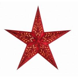 Papieren Kerstster  Geeta Rood