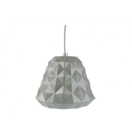 Leitmotiv hanglamp Cast Mini, wit, grijs, mint