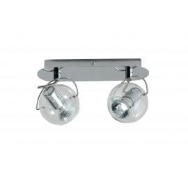 Plafond/Wandlamp Trendy en retro 2 spots
