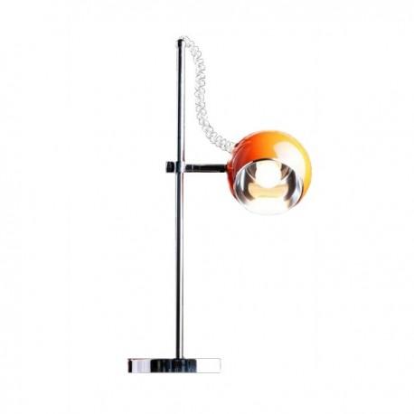 Oranje bureaulamp Retro bolspot AIW Design