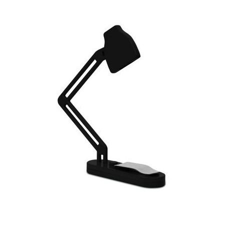 Boeklampje zwart Kikkerland