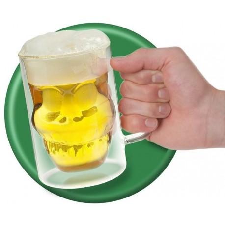 Freddy Skull Bierglas