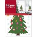 Raamsticker Kerst Kerstboom