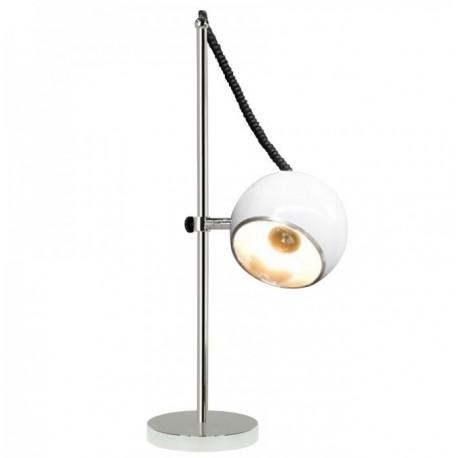Witte bureaulamp Retro bolspot Kokoon Design