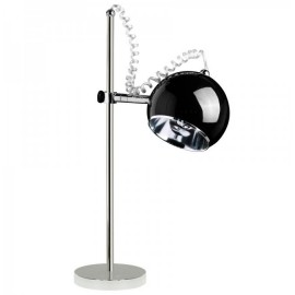Zwarte bureaulamp Retro bolspot Kokoon Design