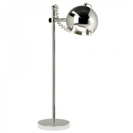 Chrome bureaulamp Retro bolspot AIW Design