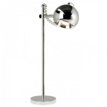 Chrome bureaulamp Retro bolspot AIW Design