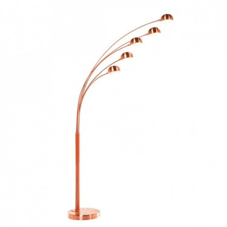 Vloerlamp Vijf Arms Koper Kare Design