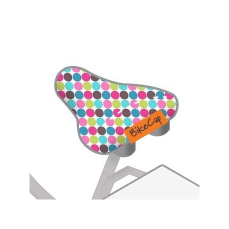 BIKECAP | zadelhoes Confetti Pink