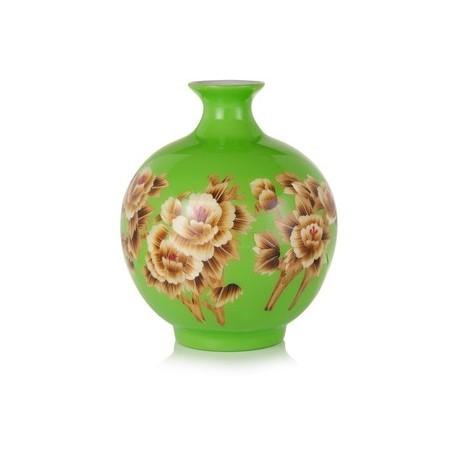 Wheat straw vaas groen pols potten for Potten en vazen